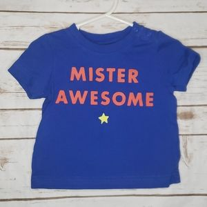 Gap Mister Awesome size 12-18 Months